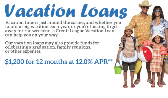 Loans for graduation, family reunions, or other expenses